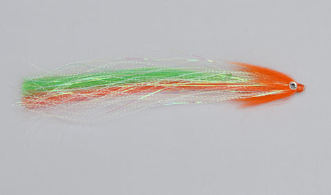 Pike Tube Fly - Fire Comet / was £5.50 - Fast Flies top trout flies
