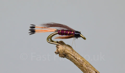 Mallard & Claret - Fast Flies top trout flies