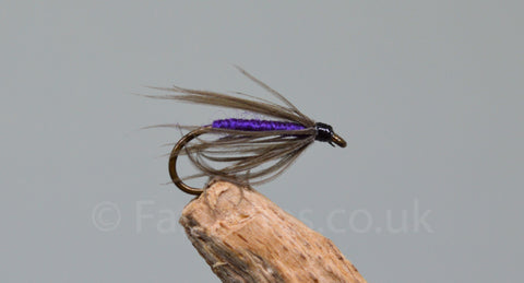 Snipe & Purple x 3 - Fast Flies top trout flies