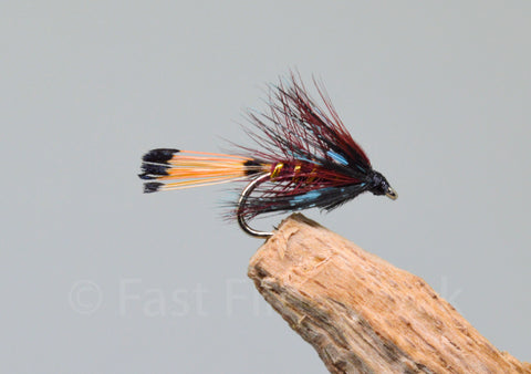 Claret Bumble x 3 - Fast Flies top trout flies