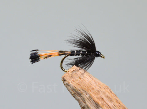 Black Pennell x 3 - Fast Flies top trout flies