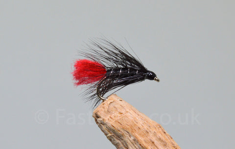 Black Zulu x 3 - Fast Flies top trout flies
