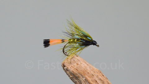 Olive Bumble x 3 - Fast Flies top trout flies