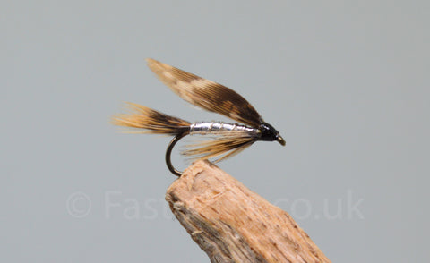 Silver March Brown x 3 - Fast Flies top trout flies