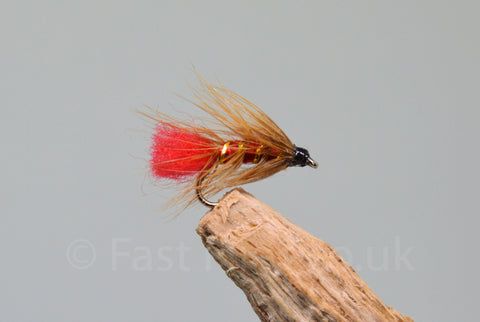 Soldier Palmer x 3 - Fast Flies top trout flies