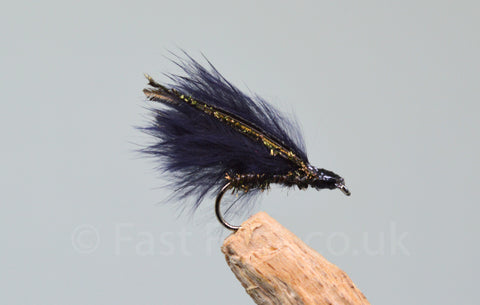Peacock Cormorants x 3 - Fast Flies top trout flies