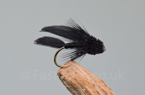 Black Mini Muddlers x 3 - Fast Flies top trout flies