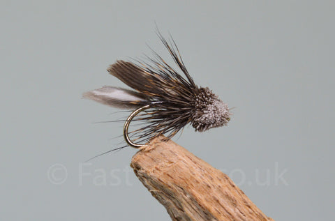 Silver Mini Muddlers x 3 - Fast Flies top trout flies