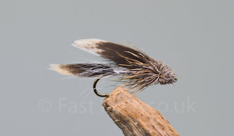 Silver Muddlers x 3 - Fast Flies top trout flies
