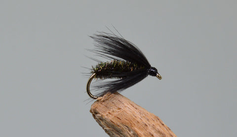 Black Peacock & Spider (Barbless) - Fast Flies top trout flies