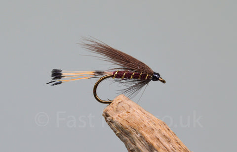 Mallard & Claret x 3 - Fast Flies top trout flies