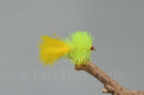 Yellow Blobs x 3 - Fast Flies top trout flies