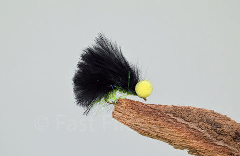 Black Shadow - Micro x 3 - Fast Flies top trout flies