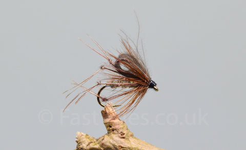 CDC Hares Ear Bristol Hoppers x 3 - Fast Flies top trout flies