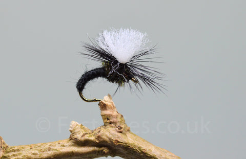 Black Klinkhammers x 3 - Fast Flies top trout flies