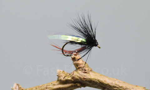 Sparkle Wing Heather x 3 - Fast Flies top trout flies