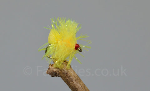 Yellow Fab x 3 - Fast Flies top trout flies