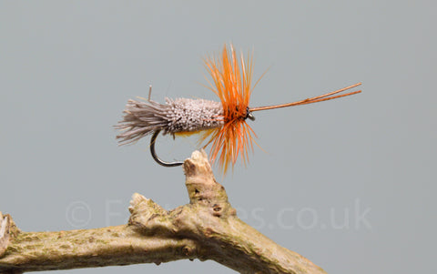 Orange G & H Sedges x 3 - Fast Flies top trout flies
