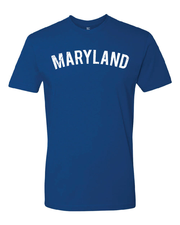 Blue Maryland T-Shirt