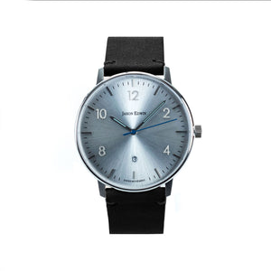 Jaxon Edwin Minimalist Watch & Watch Roll Gift Set