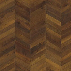 Kahrs ID Chevron Dark Brown Frame Board