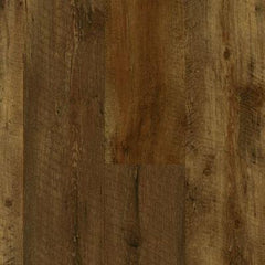 "Armstrong Farmhouse Plank Rugged Brown W Rigid Core 7""x48"""