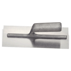Armstrong Notched Steel Trowel