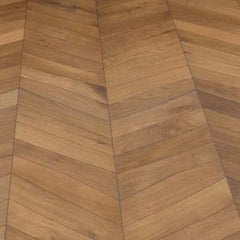 Kahrs ID Chevron Light Brown Frame Board - Flooring Market