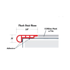 COREtec Pro Plus Trim Flush Stair Nose