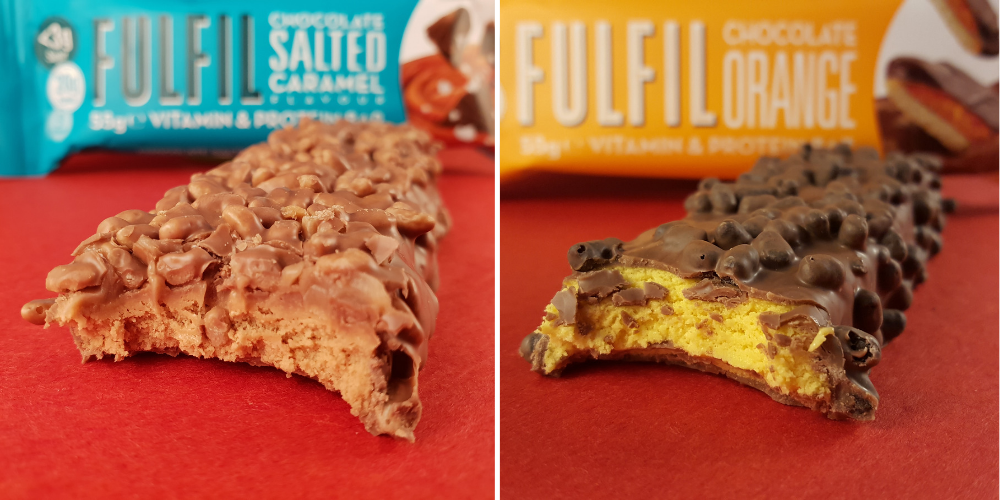 fulfil protein bars rippedkit