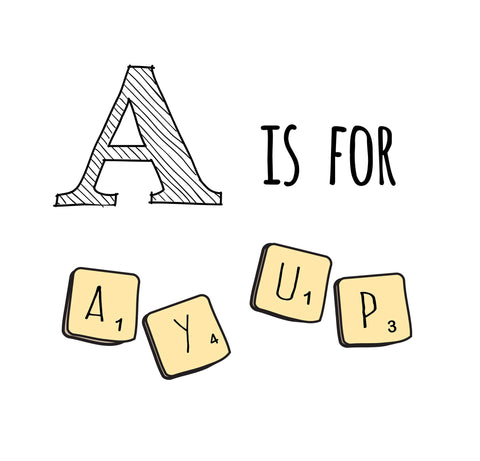 Nottingham Alphabet Prints