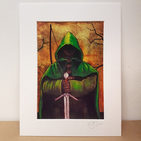 Hooded Outlaw Limited Edition Prints