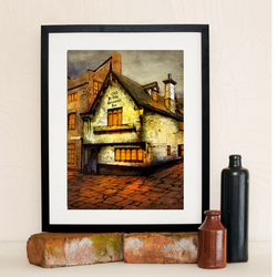 Limited Edition Salutation Inn limited edition Print