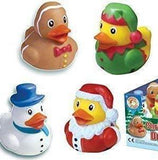 Christmas character rubber ducks
