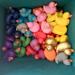 Custom Engraved Rubber Ducks