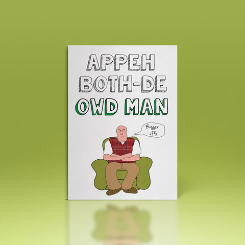 appeh bothde owd man card