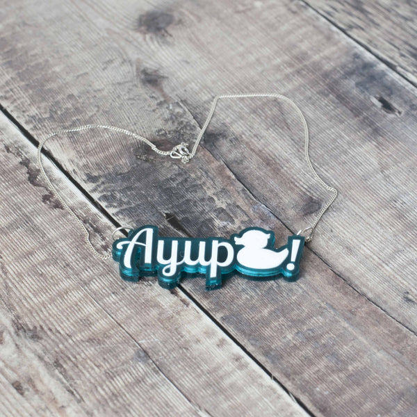 ayup duck necklace