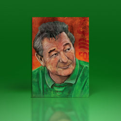 Brian Clough Greetings Card