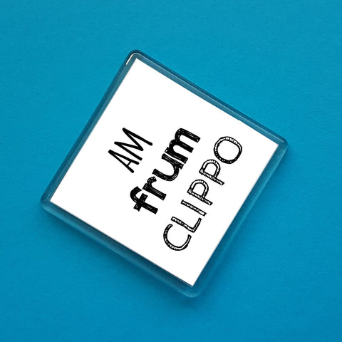 Clippo Placename Fridge Magnet