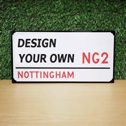 Design your own Street Sign