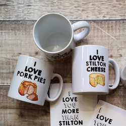 I love Pork Pie Mug