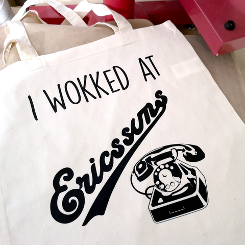 I wokked at Ericssun's Tote bag