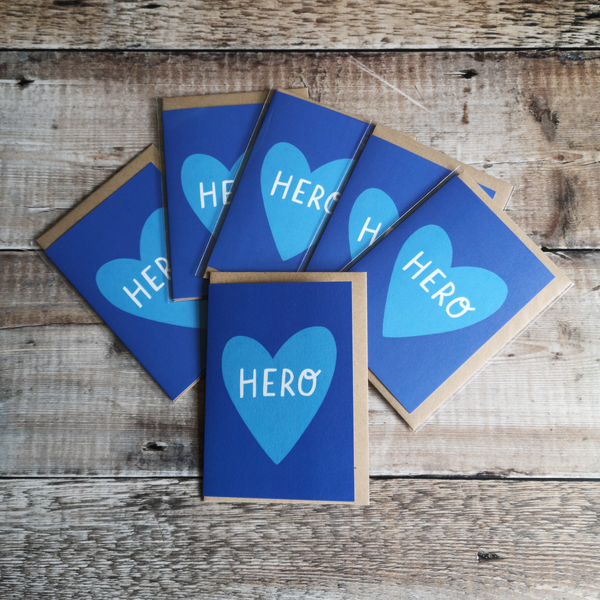 Hero Greetings Card