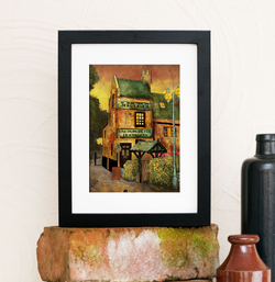 Ye Olde Trip to Jerusalem Limited Edition Framed print
