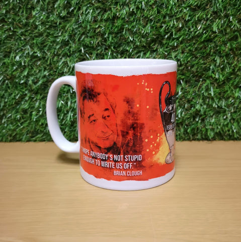 Nottingham Forest 40th Anniversary Mug
