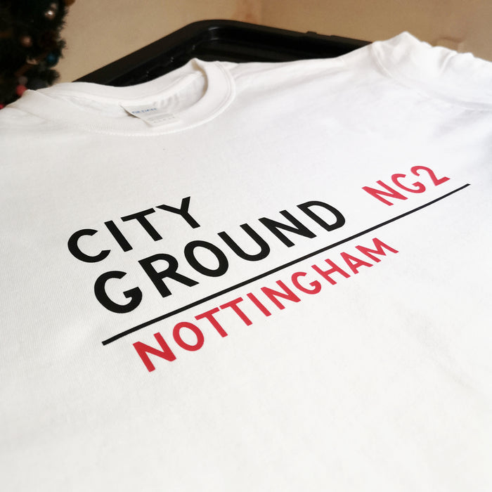 City Ground Sign T-shirt
