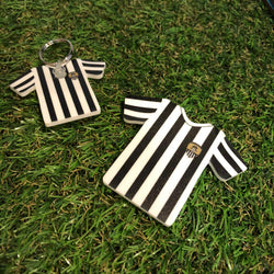 Notts County Shirt Keyring