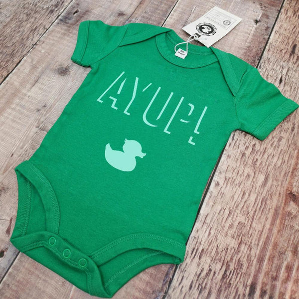 Ayup! Shadow design Baby grow