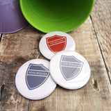 Badges 58mm (various designs)