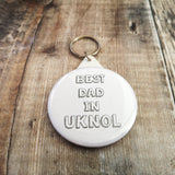 Best Dad in...KEYRINGS